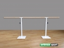 Voľné stojace nastaviteľný baletné tyče, 2.5m, kód 113-M