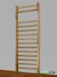 Espalier Chêne Bordeaux ,230x85 cm,14 barreuax, Ref. 221-E