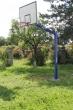 Basketball-Anlage HEAVY, 120x120 mm, mit Bodenhülsen, Artikelnr. 105-D