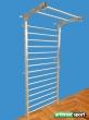 Stainless Steel Stall Bar,90.5 x 33.5 x 5.75 in,code 231-Gladiator Inox