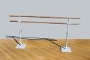 Freistehende Balettstange Doppelt, 2.5 m, Artikelnr. 113-2M