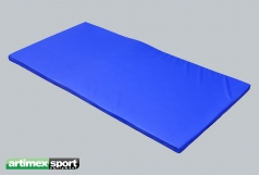 Gymnastiekmat synthetisch leder - 10 cm,2x1  m,code 268-mat