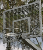 Basketbalbord uit Steel,1200x900 mm, artikelnr 106-P