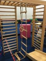 Holz Strickleiter 2,5 Meter 9 Sprossen Kinder Schaukel,artikelnr.5436