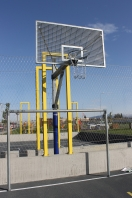 Basketball Unit galvanized,Model Rock,code 105-Z