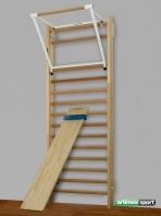 Incline board for wall bars ,1900x370 mm,cod 251