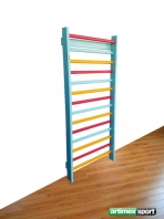 Stall Bars multicolor, 7 feet, 6 1/2 inches x 2 feet, 9 1/2 inches, code 221-multicolor