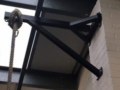 Wandaufhänger für Seile oder Boxsäcke,artikelnr 1105