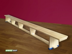 Turn - und Gymnastikbank 4 m, Artikelnummer  204
