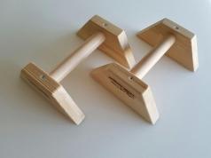 Handstandklosjes van solide hout 36 mm, artikelnr. 248-G