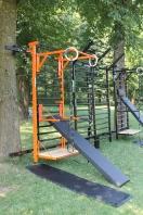 Fitness Set Zwart/Orange Magic, artikelnr. 269/Orange