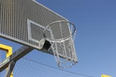 Baskettballring Verzinkt mit kette, Artikelnr. 106