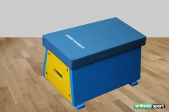 Colored Mini Vaulting box,60x40x30 cm,code 241-color