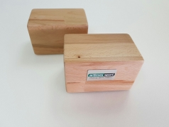 Yogablock aus Holz Buche,Artikelnr 25356