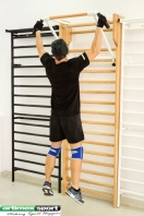 Pull Up bars with side handles for wall bars, code 260