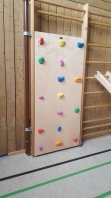 Climbing wall for Wall Bars,213x75 cm,code 221 Climbing