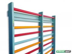 Χρωματιστό πολύζυγο γυμναστικής για το σπίτι, 230x85 cm, Κωδ. 221-COLOR