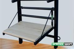Step up platform per spalliere in legno e metallo, codice 45891