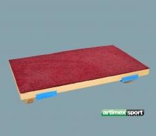 Balanceerplank,75x40x14 cm, artikelnr 888/mocheta