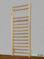 Home gymnastic wall bars(Swedish Ladder), 230x85 cm,14 rungs,cod 221