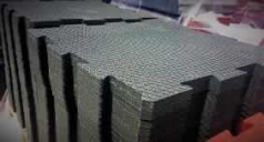 Rubber blocks of high density for floors, code 776644