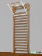 Προσφορά! Πολύζυγο από ξύλο οξιάς με μονόζυγο, κωδ. 259-F