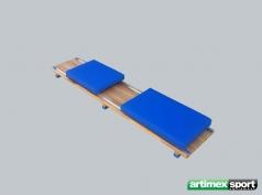 Planche pour la réhabilitation à la marche, 1900x370mm, Ref. 886