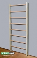 Swedish Ladder London, 8 rungs, 2x0.85 m, code 253-8