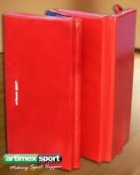 Faltmatte klappbar mit PVC-Überzug, 200x120x5 cm, Artikelnr. 237-4