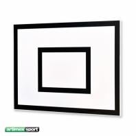 Panneau de basketball Artimex 120x90 cm,code 160