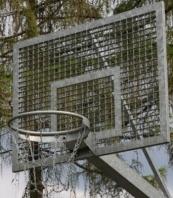 Pannello da Basket plus anello zincato,codice 106-P