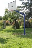 Basketball-Anlage HEAVY ,120x120 mm,mit Bodenhülsen,Artikelnr  105-D