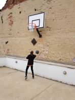 But de basket mural 'Fun Home, code 509