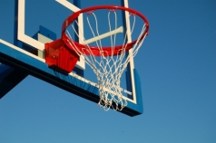Basketballring abklappbar, Artikelnr. 108