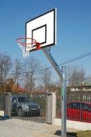 Basketball Anlage verzinkt,100x100 mm,mit Bodenhülsen,artikelnr 105-B