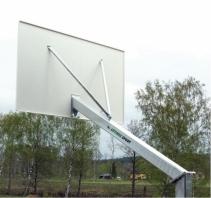 But de basket extérieur,galvanisé  , model Heavy, code 105-D/galvanisé
