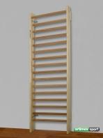 Scoliosis Klimrek Haarlem,2.3x0.85 m,16 sporten,Artikelnr. 221 -Reha