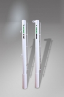 Tennispfosten aus  Stahl,83 mm Ø, Artikelnr. 303