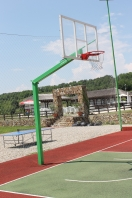 Profesionelle Basketbalanlage,model Heavy,Artikelnr 105-D /Professionell