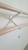 Double Brackets for Wall Mounted  Ballet Barres,code 113-Bracket