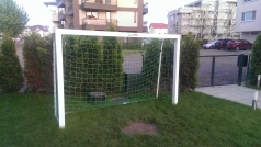 Mini Football goal, aluminium, 2.3x1.5 m, code 400-23