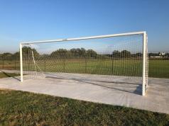 Alu Fußballtor, Transportabel Trainingstor 7.32 x 2.44 m, Artikelnr. 405