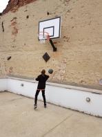 Set Basketbalpaal Home Fun, Wandmontage, code  509
