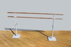 Dubbel Balettstång mobile,250 cm, kod 113-2M