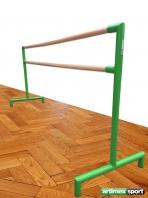 Barra di balleto doppio, mobile, 2.5 m di lunghezza, 113-3М