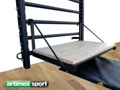 Stepper plegable per Espalderas,76 cm, codigo 45891
