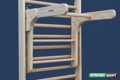 2 in 1, Pull up /Chinning wood bar, code 248-Holz