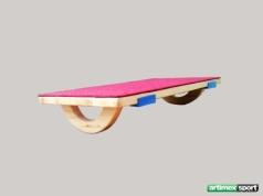 Planche d''équilibre en balance avec moquette, Ref. 888/mocheta