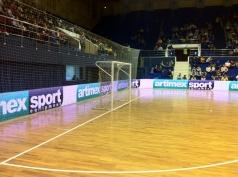 Voetbaldoel futsal - 2 stuks 3x2 m,code 419-FUTSAL