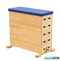 Švédska debna, obdĺžnikový, 5 drevených časti, kód 213